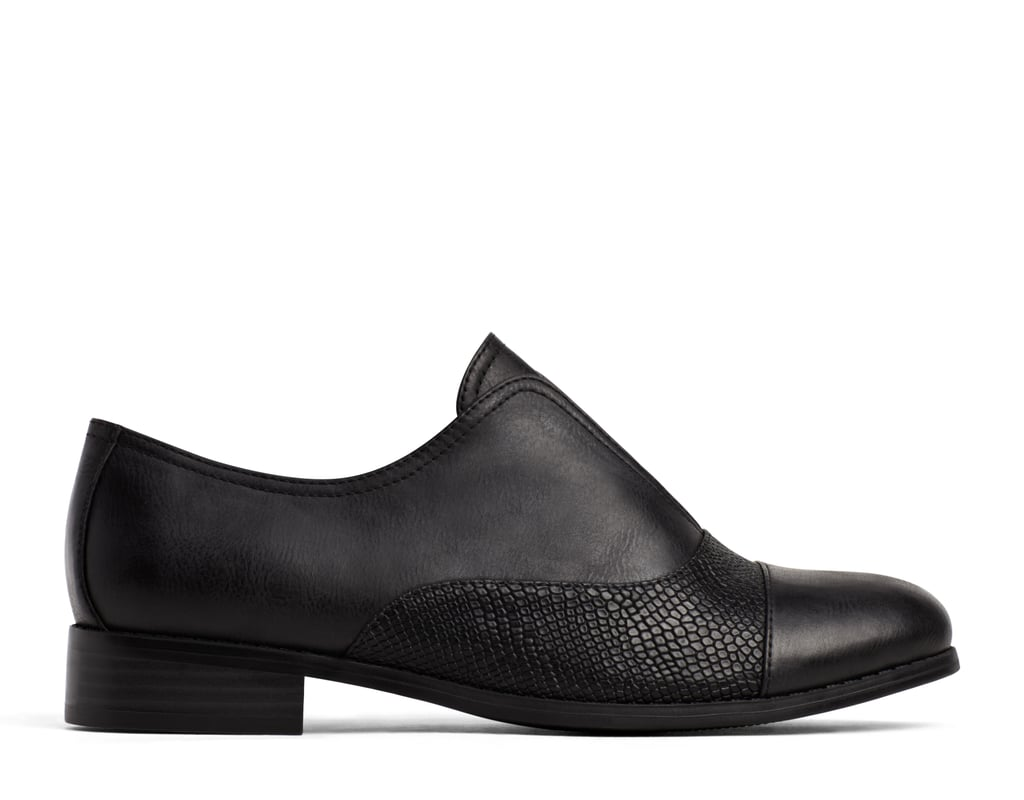 A+ Merida Black Loafers ($30)