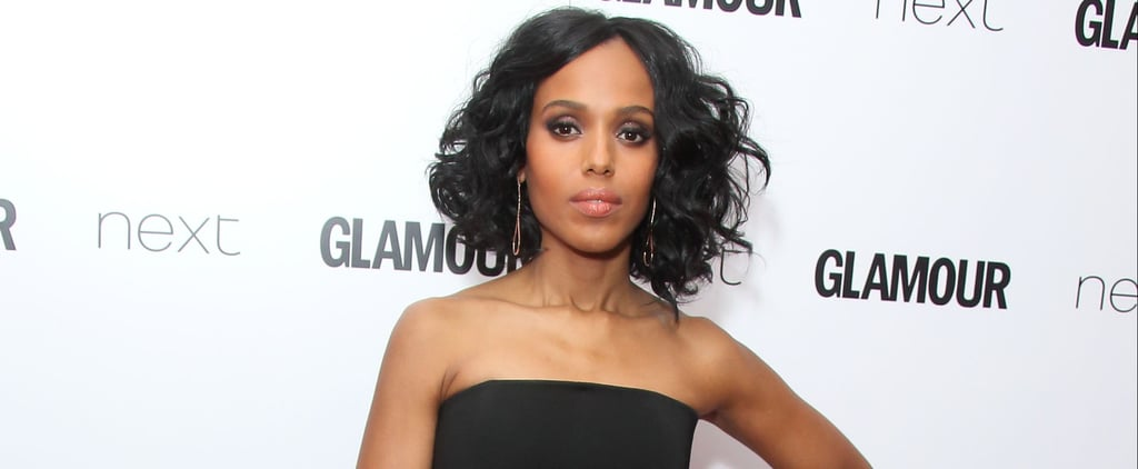 There's No Scandal About Kerry Washington's Red Carpet Style — Except the Risks She Takes
