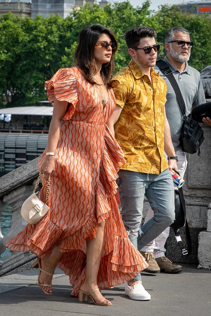 Priyanka Chopra Going For a Boat Ride in Paris