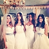 A glimpse into the future? From the PLL episode where they walked in the bridal show!
