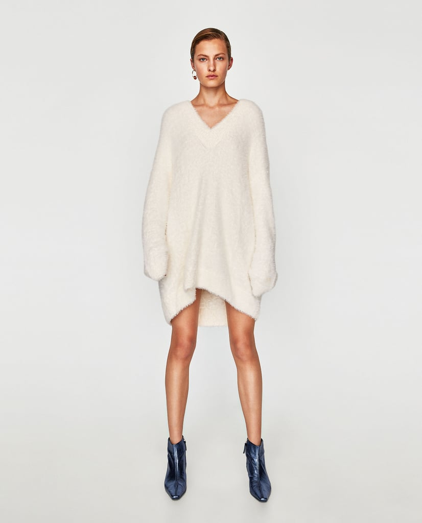 990d4154644 Zara Oversize Textured Sweater