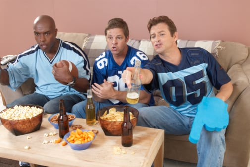Where Do You Stand? Guys Wearing Football Jerseys