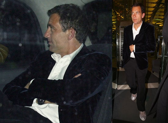 Clive Owen at The Ivy Club