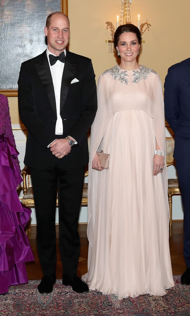Kate Middleton Alexander McQueen Cape Dress