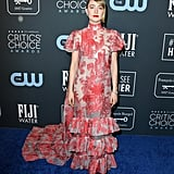 Saoirse Ronan at the Critics' Choice Awards, January 2020