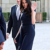 Meghan Markle's Blue Roland Mouret Dress
