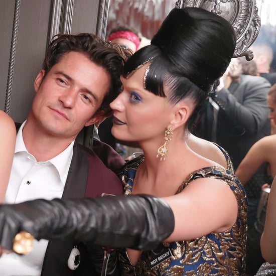 Katy Perry Orlando Bloom at Met Gala Afterparty 2016