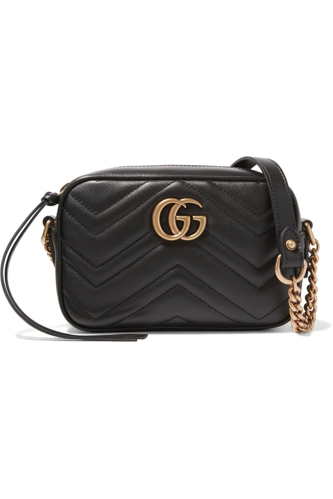 e8da2332bee2a5 Gucci GG Marmont Camera Mini Quilted Leather Shoulder Bag, $1,080 ...