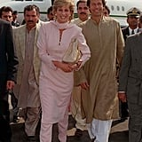 Princess Diana With Imran Khan in Pakistan