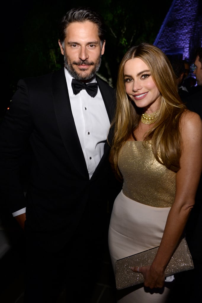 The date: In July, new details revealed that Joe and Sofia would be tying the knot at six o'clock at Breakers Palm Beach Resort in Florida on Nov. 22. 	 Sofia's dress: Most recently, the designer of Sofia's gown was announced: Zuhair Murad, of course. The actress has been featured on the red carpet a handful of times in his designs. 	 Joe's tux:  On Nov. 11, Entertainment Tonight reported that Joe will be walking down the aisle wearing John Varvatos.  The invitation:  On Tuesday, Hello! Magazine got a hold of the couple's gorgeous wedding invitation, which revealed a pre-party would be held on Nov. 21, the day before the nuptials, and in lieu of gifts, the pair has asked guests to donate to a select few charities, including St. Jude's Children's Hospital. The day before the wedding: Sofia, along with several members of her family, took to Instagram on Saturday to share their excitement over the big day by sharing a handful of fun photos using the hashtag #Jofía.