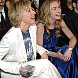 Portia was by Ellen's side when she won big at the January 2006 People's Choice Awards.