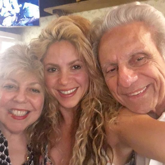 Shakira With Her Parents Instagram Picture September 2016