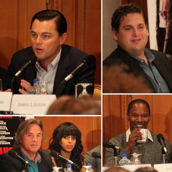 Django Unchained Press Conference in NYC