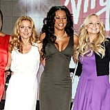 The Spice Girls attended a photocall to open Virgin Atlantic's new terminal at Heathrow Airport in December 2007.