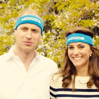 Kate Middleton and Prince William Mental Health Video 2016