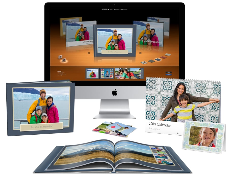 May 2 is the last day to order iPhoto Print Products ($4-$50) if you want to give her iPhoto books and calendars on Mother's Day proper. Create beautiful memories of vacations or family outings for Mom, or a year full of family photos in iPhoto.