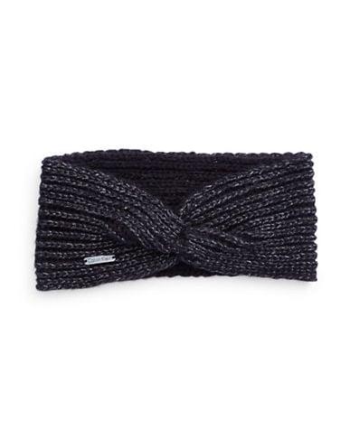 Metallic Knit Headband