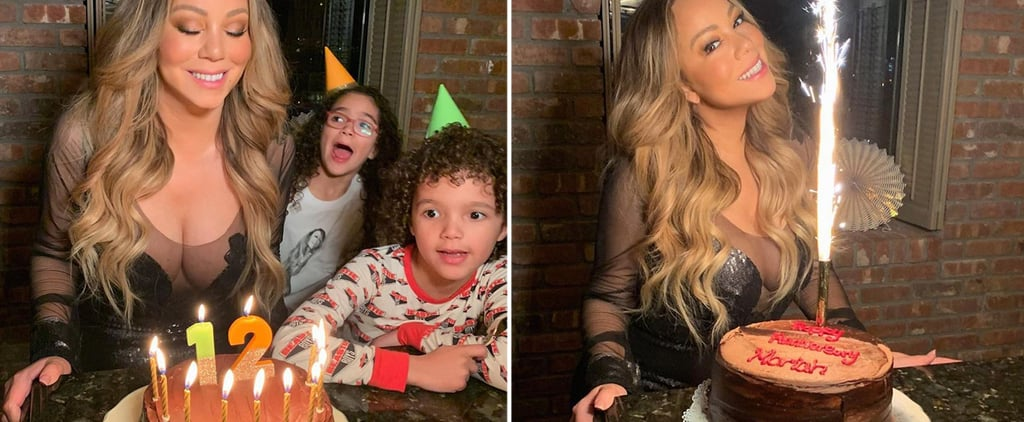 Mariah Carey Posts 50th Birthday Celebration Pictures