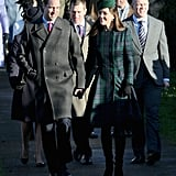 Kate Middleton and Prince William were spotted together in King's Lynn, England.