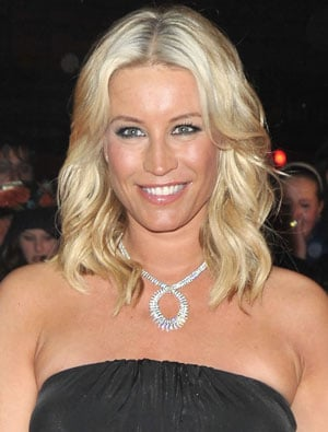 Denise Van Outen Hair and Makeup at the Brit Awards