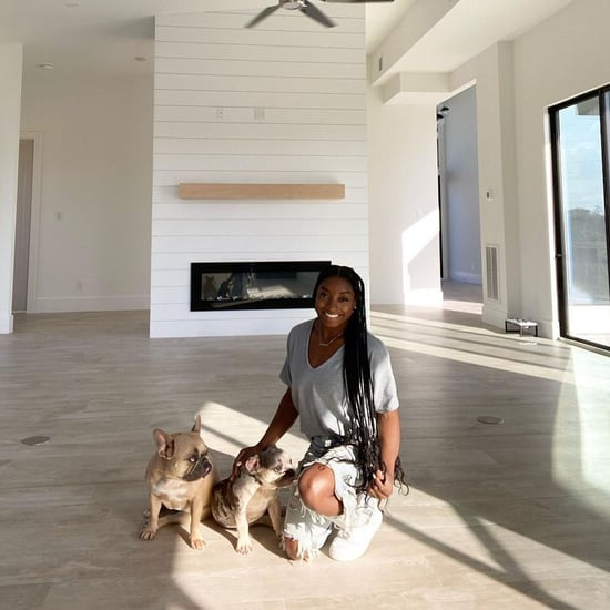 Best Photos of Simone Biles' French Bulldogs, Lilo and Rambo
