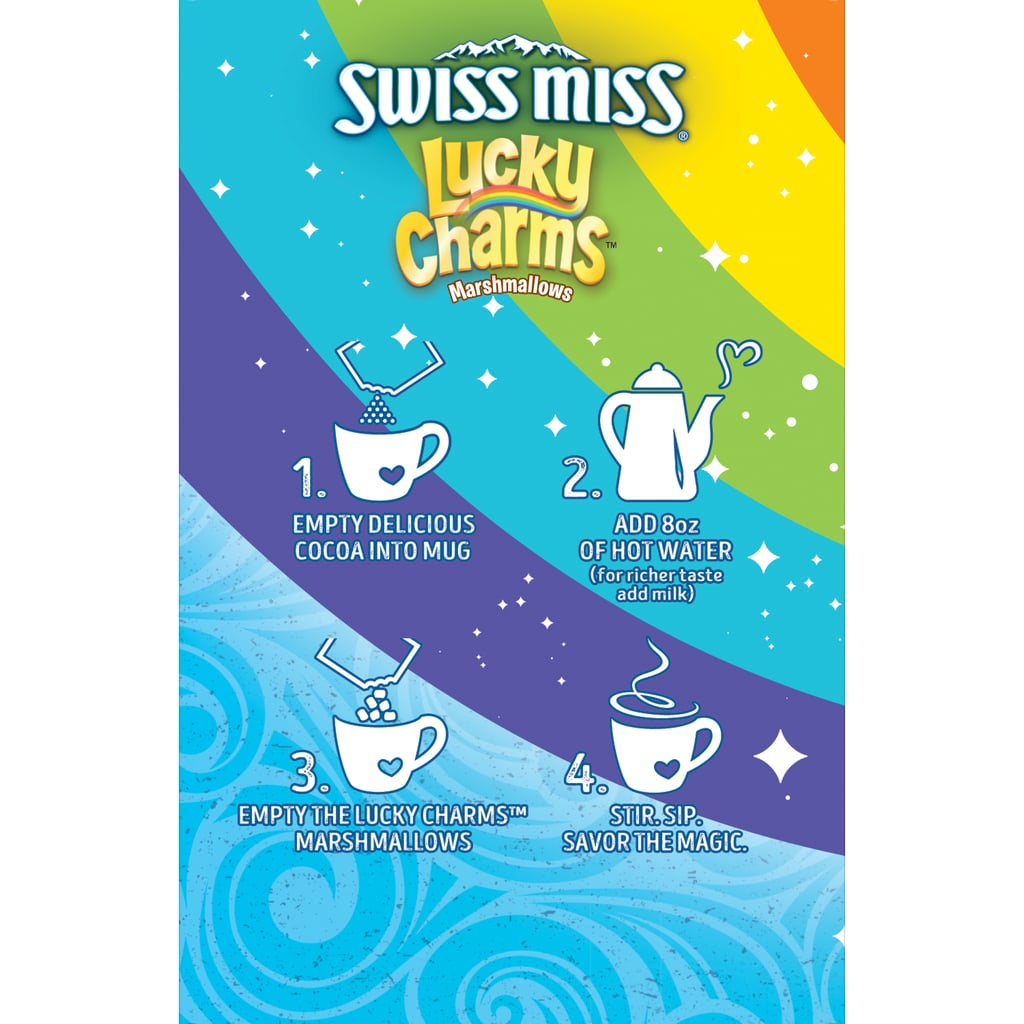 Swiss Miss Hot Chocolate With Lucky Charms Marshmallows