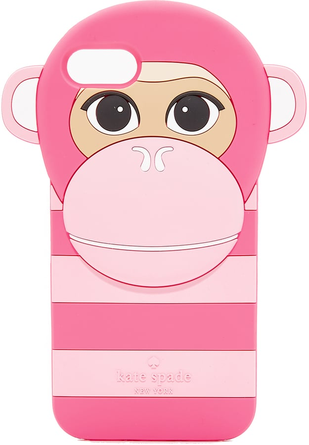 Kate Spade Silicone Monkey iPhone 7 Case ($55)