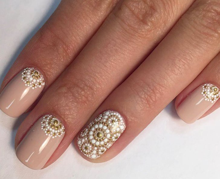 Art Designs: Intricate Dotticure Nail Art Designs