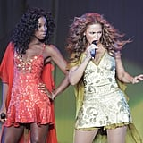 The ladies looked fiercer than ever performing at their Destiny Fulfilled Tour in 2005.