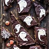 Boo! Chocolate Peanut Butter Bars