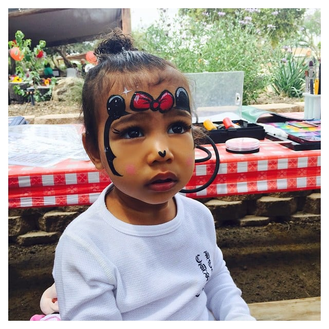 North West As Minnie Mouse Pictures Popsugar Celebrity
