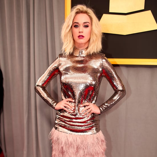 Katy Perry at the 2017 Grammys