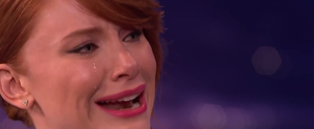 Bryce Dallas Howard Cries on Command