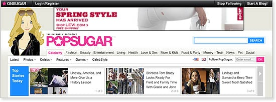 New Sugar Site Design