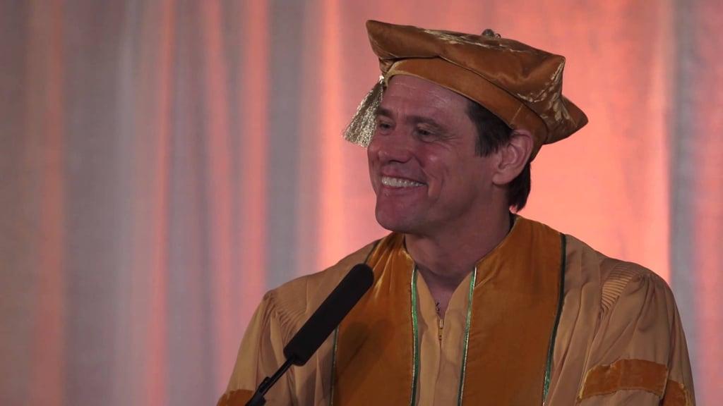 Jim Carrey's Commencement Address, Maharishi University of Management (2014)