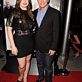 Peter Gallagher attended the premiere with his daughter, Kathryn.