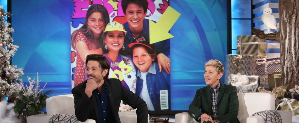 Diego Luna on The Ellen DeGeneres Show Dec. 2016   Video