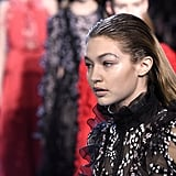 Gigi Hadid at Giambattista Valli Paris Fashion Week Fall 2016
