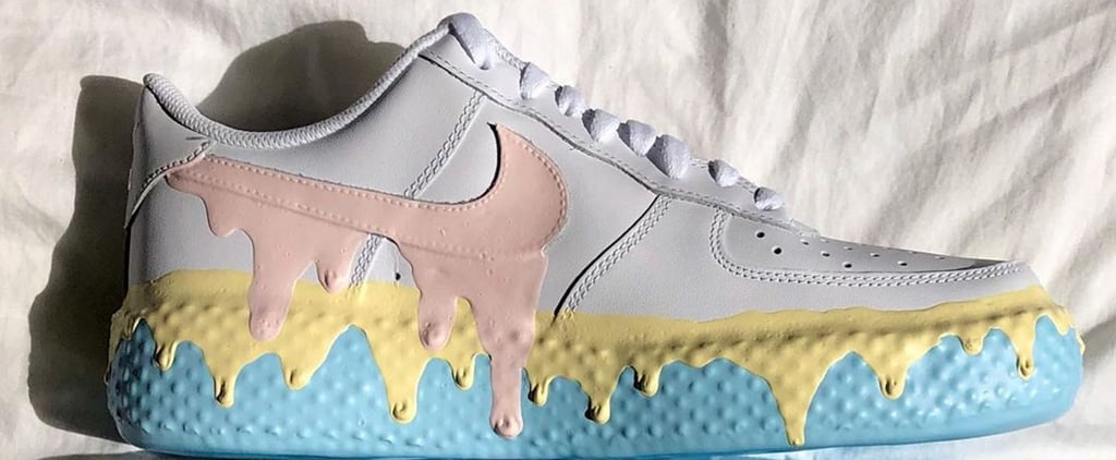 Instagram Artist Donny Creates Ice Cream Painted Sneakers