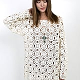 This crochet tunic is perfect for throwing on over your swimsuit.  Mama Stone Vintage '80s Crochet Tunic ($72)