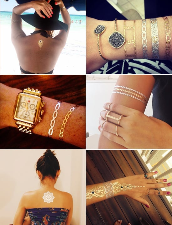 Beyoncé and 25 Real Girls Show Off Their Chic Flash Tattoos
