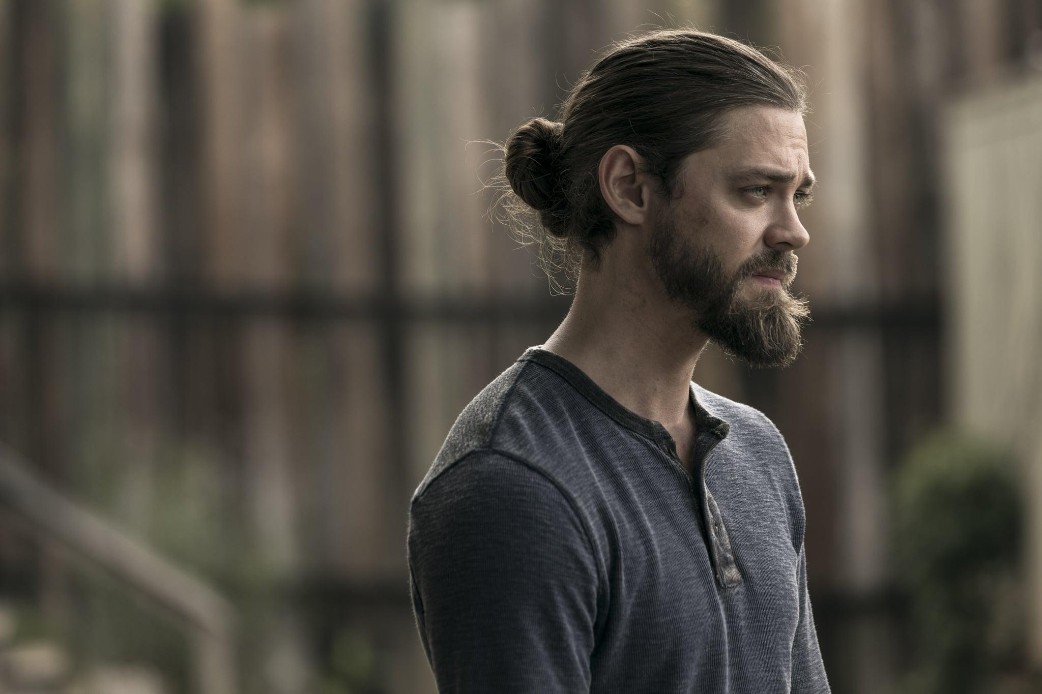 Tom Payne as Paul 'Jesus' Rovia - The Walking Dead _ Season 9, Episode 2 - Photo Credit: Jackson Lee Davis/AMC