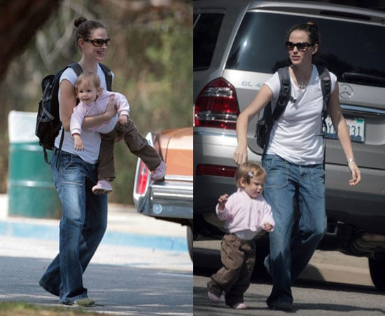 Jen Accessorizes to Take Violet to the Park
