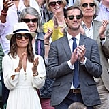Pippa Middleton and James Matthews at Day 11 of Wimbledon
