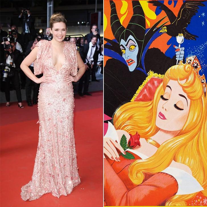 Elizabeth Olsen as Aurora From Sleeping Beauty