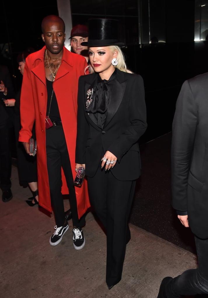 Rita Ora at the Met Gala Afterparty