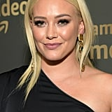 Hilary Duff's Light Blond Hair in January 2019