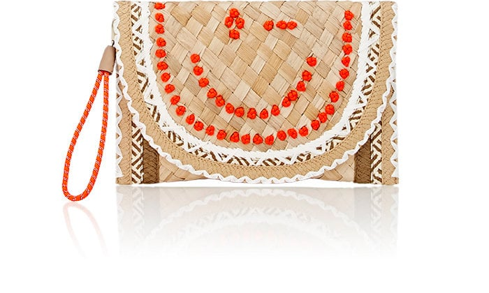 Anya Hindmarch Wink Basket Clutch ($650)