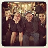 Mike O'Malley will return as Kurt's dad for the holiday episode. Source: Instagram user adamshankman