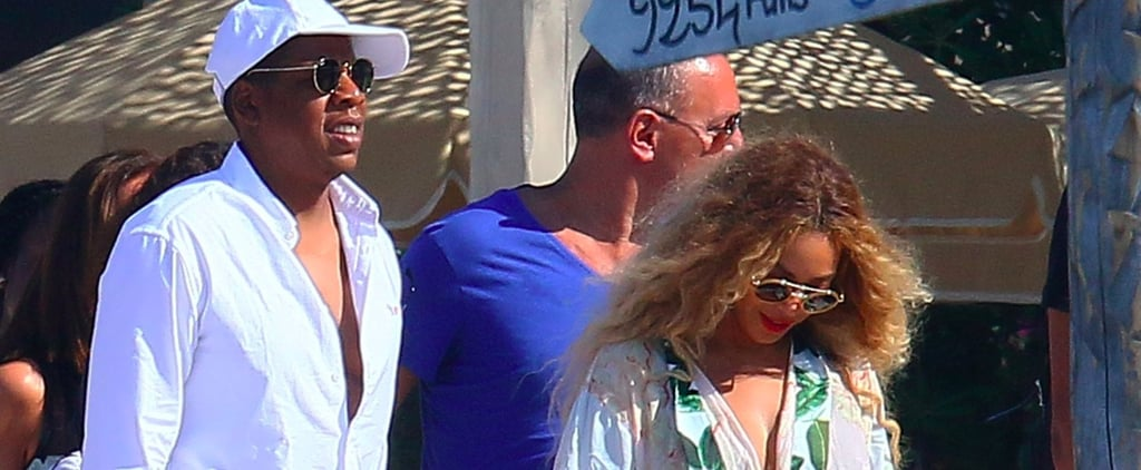 Beyoncé and Jay Z Take a Relaxing Getaway With Blue Ivy in France